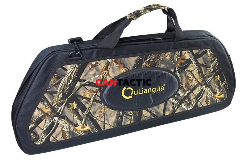 Compound bow case, heavy duty, semi rigid