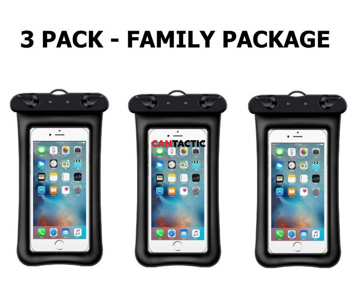 Waterproof phone case family pack