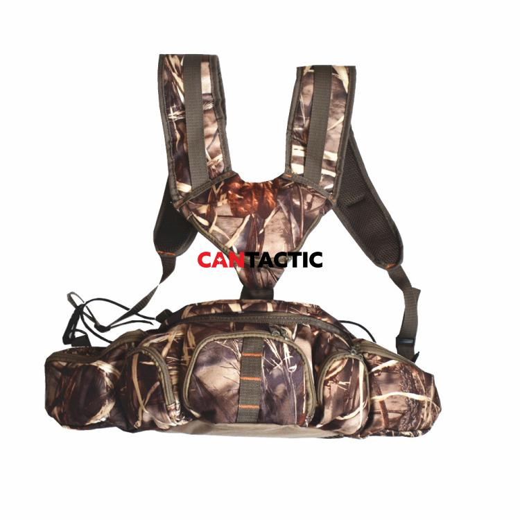 Hunting harness bag camo