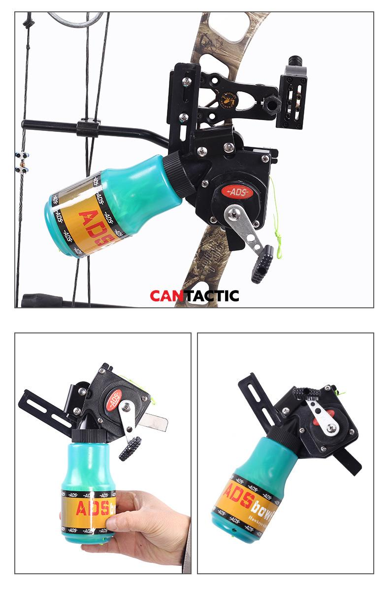 Archery Accessories ADS Fishing Reel Compound Bow Archery Fishing Gear And Fishing Rope Water Bottle Hunting Accessories