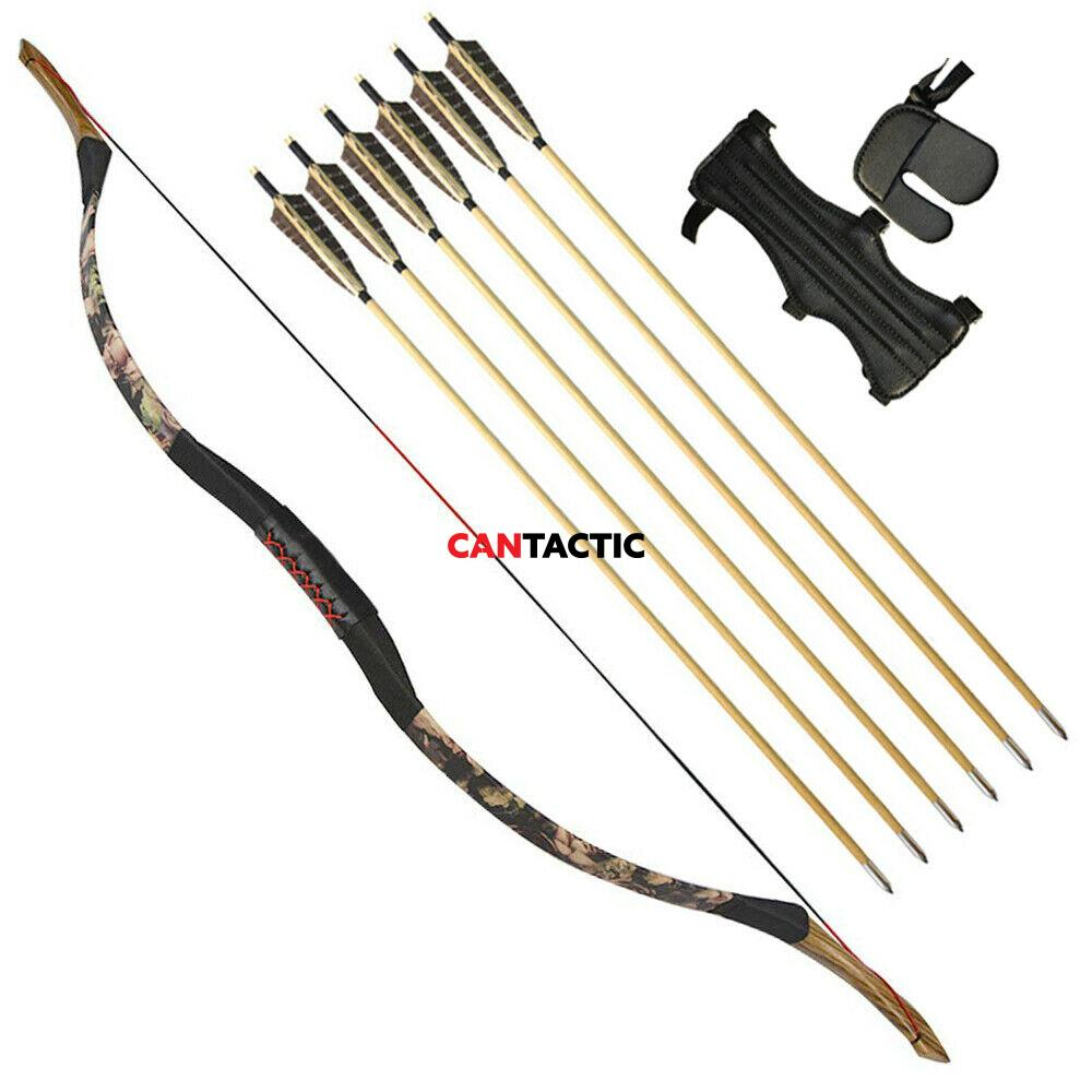 Horse bow, 1 Piece Traditional Bow 50lbs