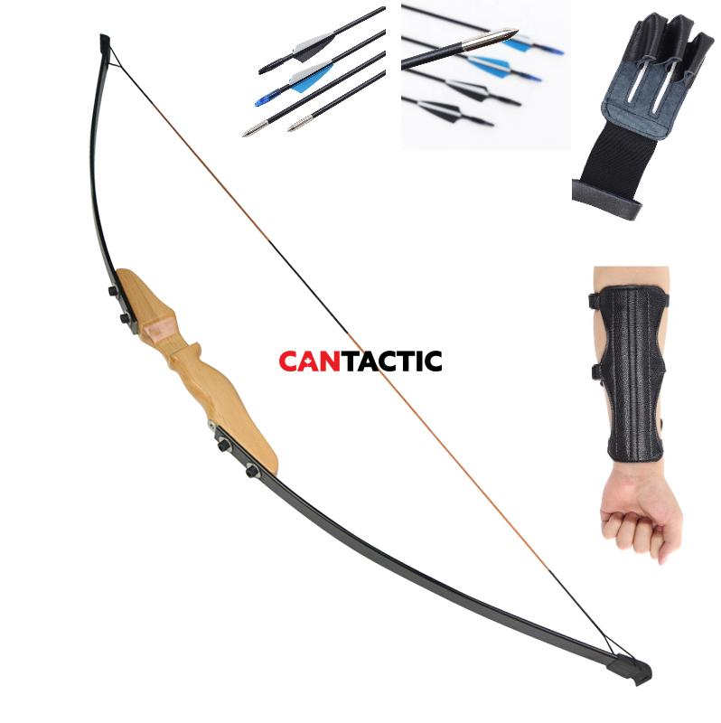 Wood recurve bow only