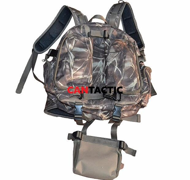 Hunting Day Packs Hiking Military Molle Multi Puprose Heavy Duty Rifle and Bow Carrying Camo Backpacks
