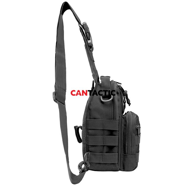 Outdoor Sports Military Tactical Sling Bag Casual Unbalance Shoulder Sling Carrier Bags Men Chest Bag Pack