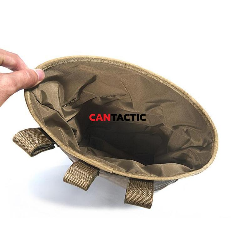 Tactical Dump Drop Pouch Magazine Pouch Military Hunting Airsoft Gun Accessories Sundries pouch portable  Molle recovery ammo bag