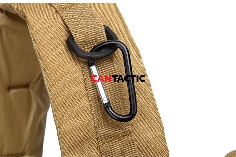 Shoulder strap quick attach loops