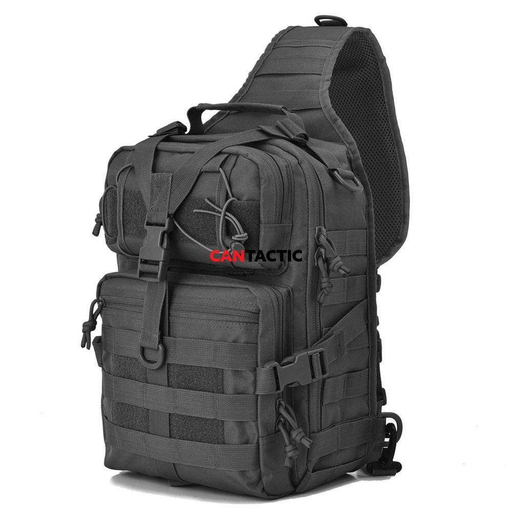 Unisex Waterproof Sling Chest Bag High Capacity Military Travel Cross Body Messenger Casual Shoulder Backpack
