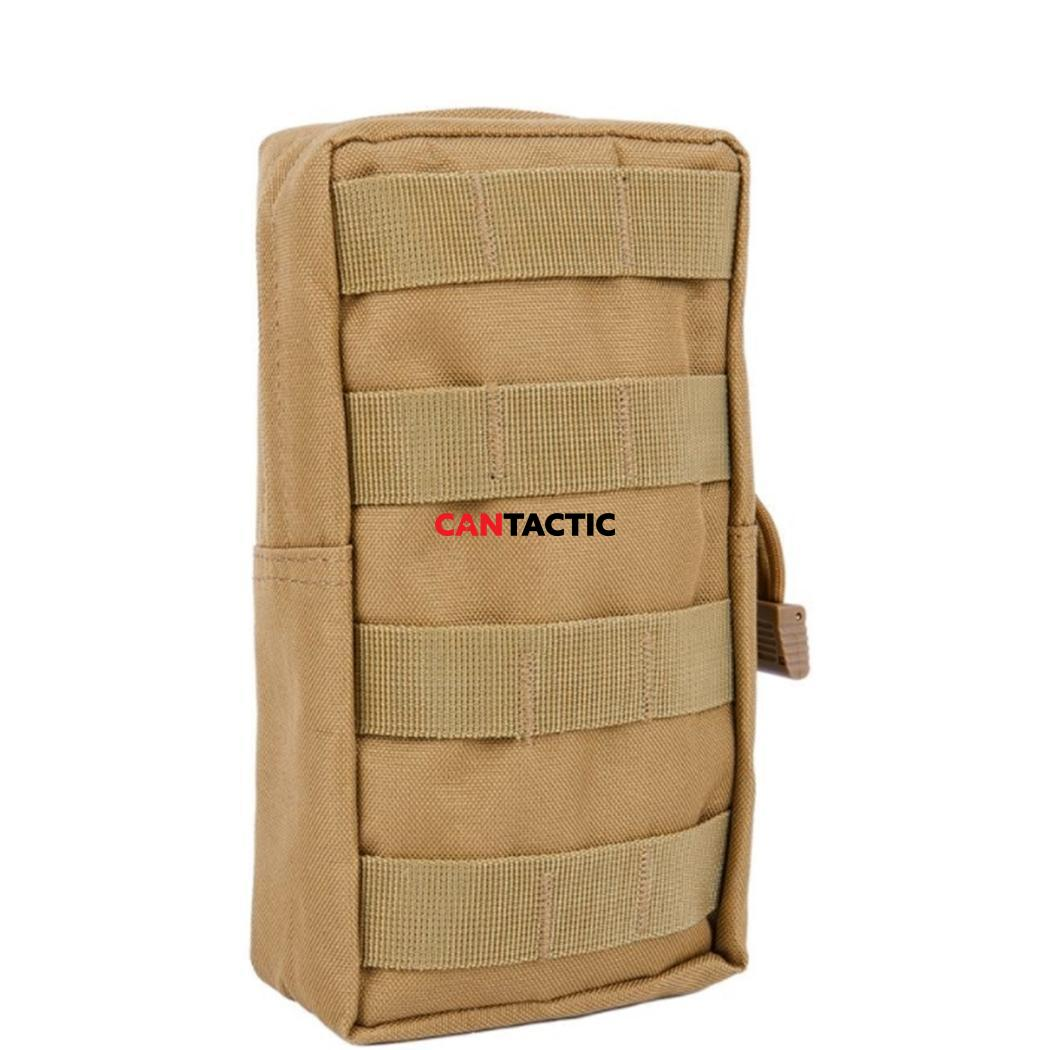 Tactical Waist Bag Multifunctional EDC Molle Tool Zipper Waist Pack Accessory Durable Belt Pouch