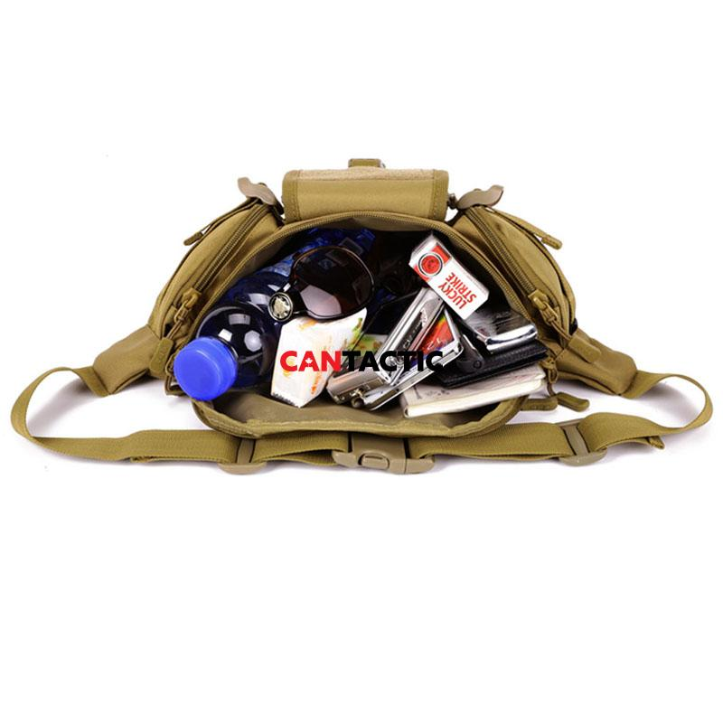 Tactical Waist Pack Fanny Pack Outdoor Hiking Travel Large Army Waist Bag Military Waist Pack for Daily Life Cycling Camping