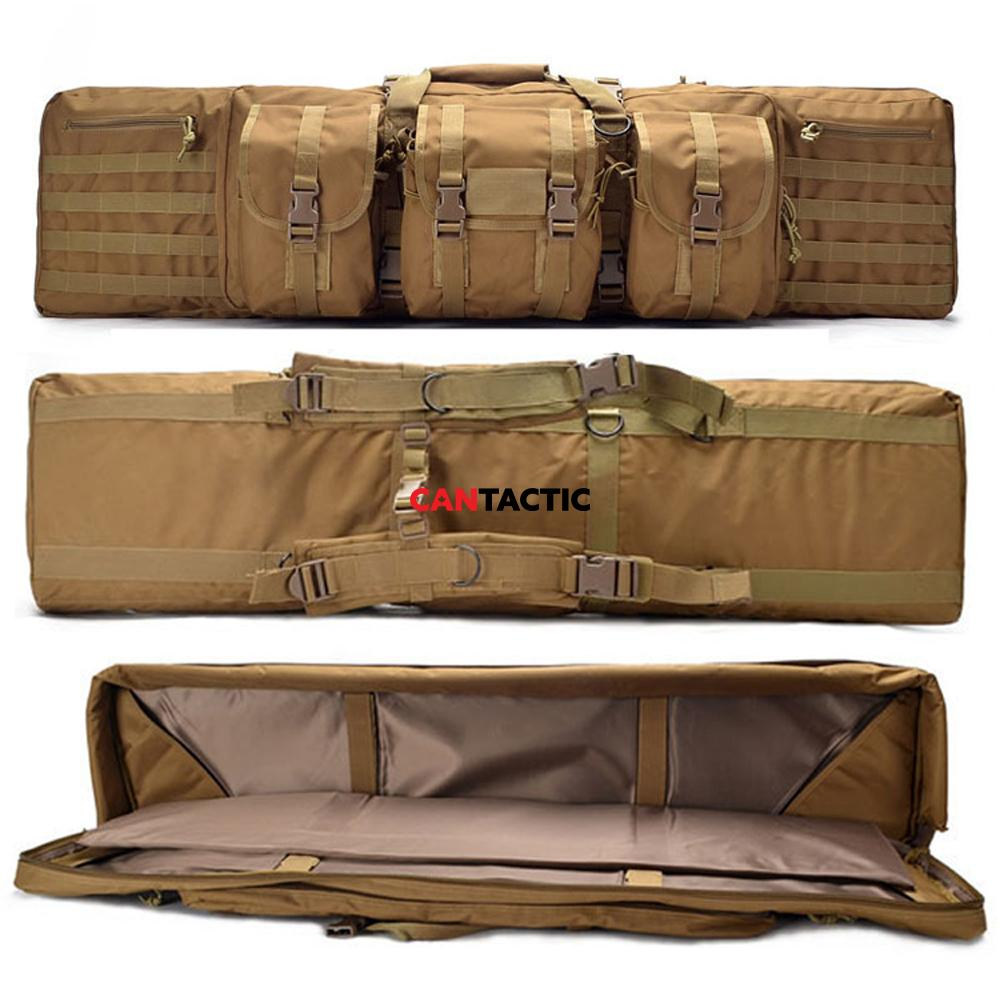 Tactical Gun case Hunting Shooting Military Hiking Molle Backpack