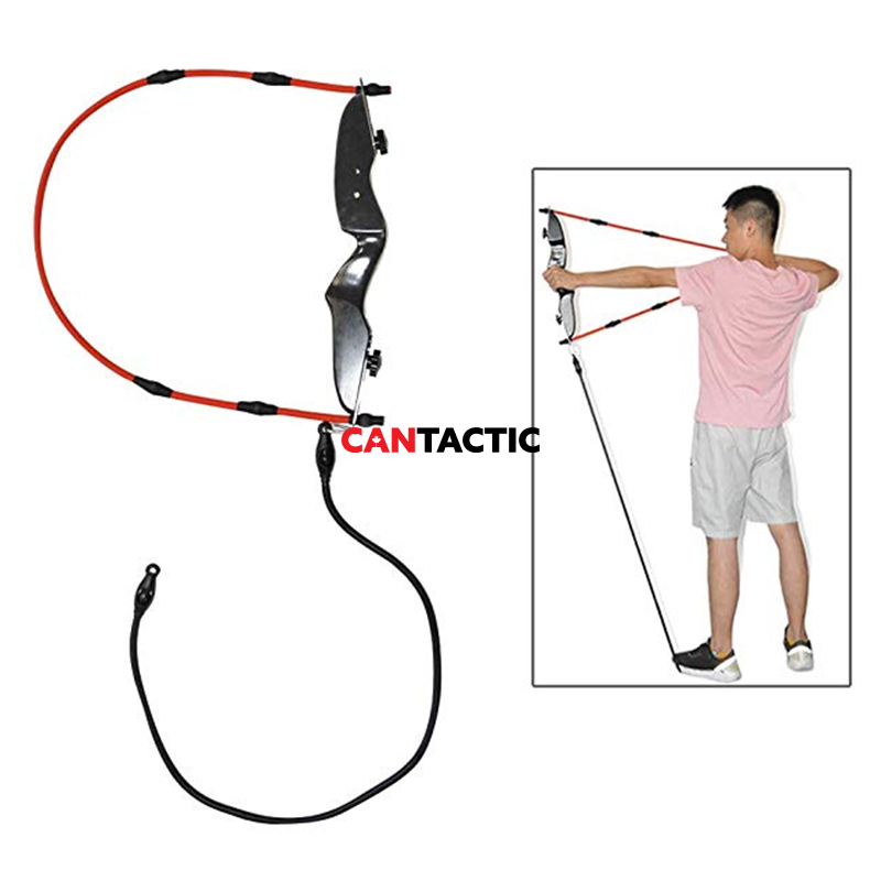 1 Set Archery Trainer Equipment, Archery Exerciser Pull Hand Exerciser Arm Strength Posture Training Accessories, Adjustable