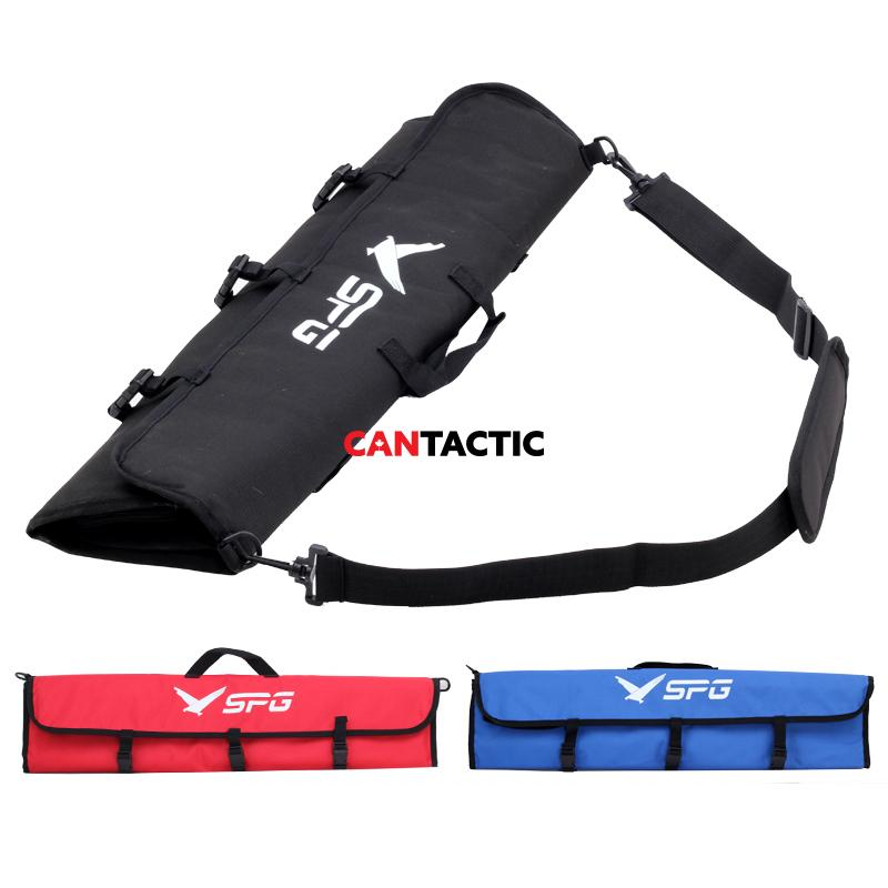 Archery Takedown Recurve Soft Bow Case with Package for Limbs Riser and Bow Accessories