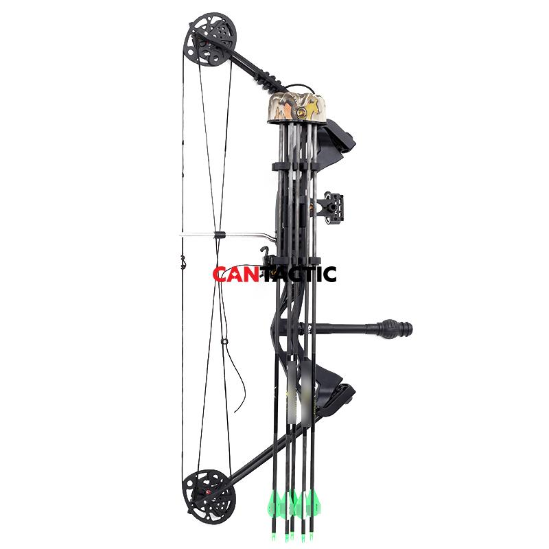 Camo strong and durable 5 ARROW quiver for quick quiet arrow removal outdoor hunting