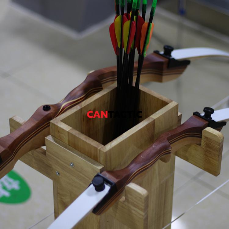 Handcrafted-Bow-and-Arrow-Storage-Rack-Holder (2)