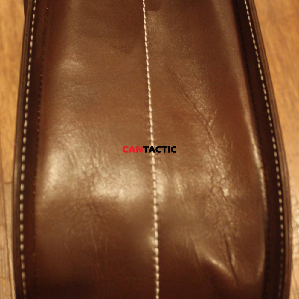 Trap and skeet shooting upland hunting hand made genuine leather waist bag