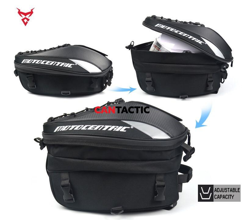 Hard shell motorcycle bag, resistant to falling, wear-resistant, tear-resistant. helmet bag
