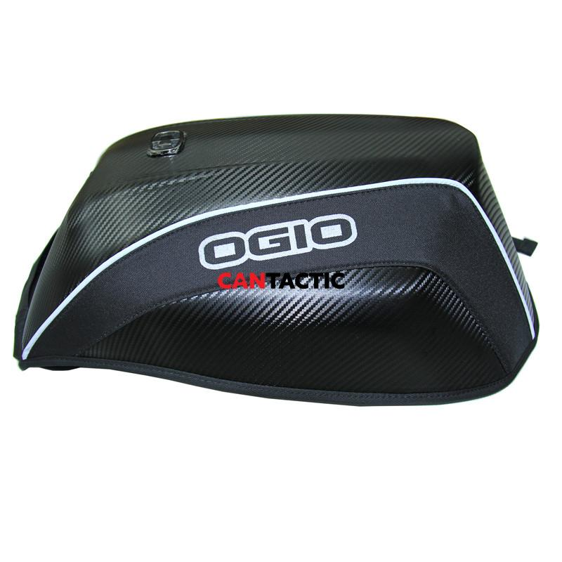 Motorcycle ogio backpack, hard shell, eggshell back pack, aero dynamic and reflective