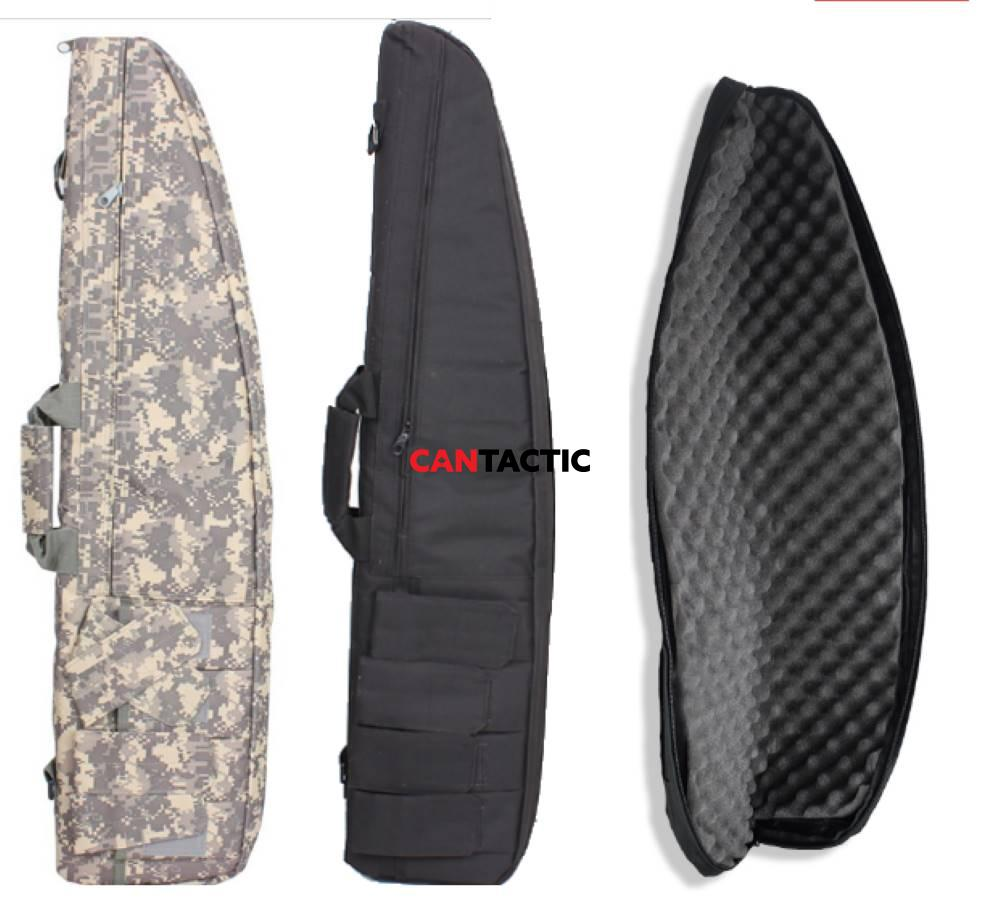 Military Rifle Soft Padded Gun Case Hunting Accessories Pouch Shotgun Tactical Airsoft Gun Carry Shoulder Bag Storage Holster