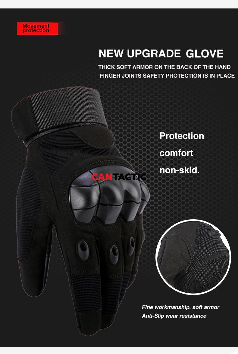 knuckle Tactical gloves shooting Airsoft hard riding full finger gloves Outdoor winter Touch Screen Shooting