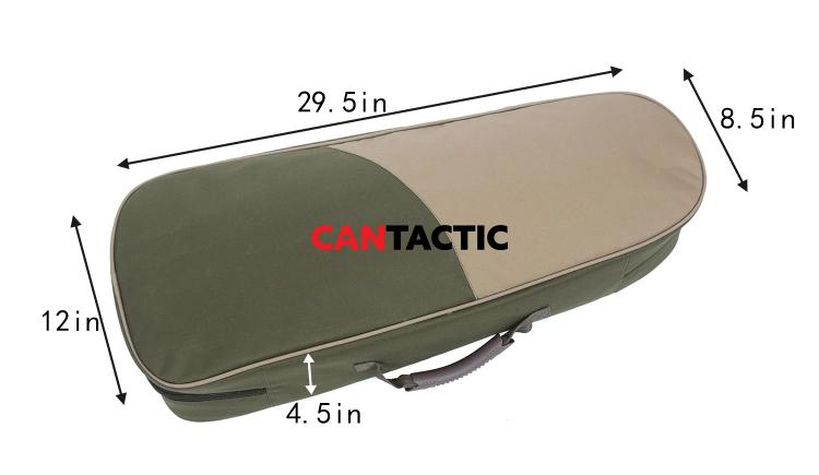 Multifunctional Soft-Sided Fishing Travel Tackle Gear Rod Reel Case Bag